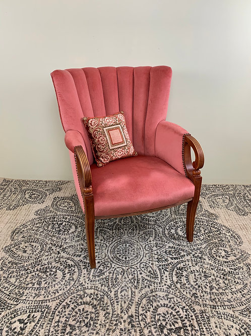 Pink Posey Armchair