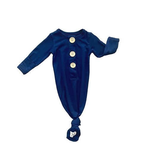 """Kozi & Co Knotted Gown """" Navy"""""""
