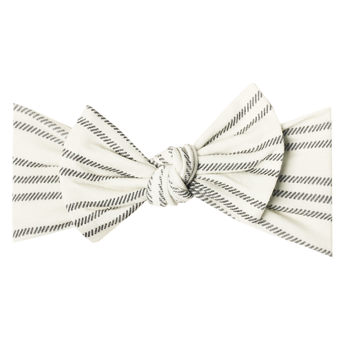 "Knit Headband Bow ""Midtown"""