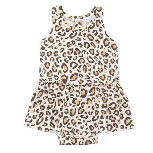 Leopard Body Suit w/Skirt