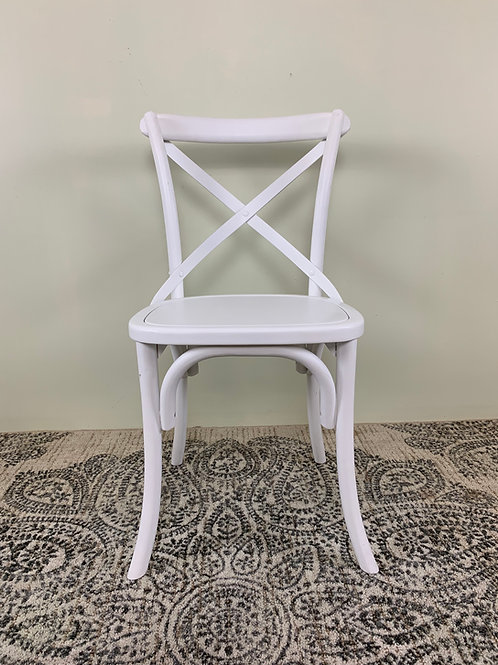 Myrtle X-back Chair (white)