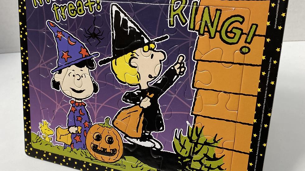 Charlie Brown Halloween Puzzle