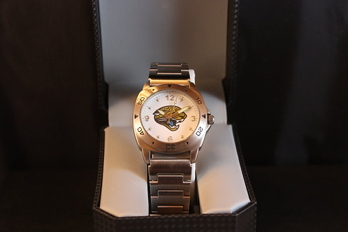NFL Licensed Watch/Jacksonville/Stainless Steel