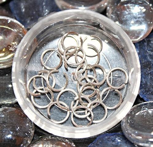 Sterling Silver Nose Rings - 20GA - 7ML
