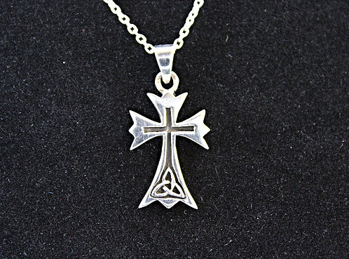Sterling Silver Triquetra Cross