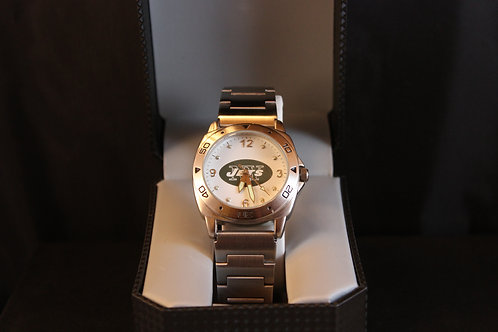 NFL Licensed Watch/New York Jets/Stainless Steel