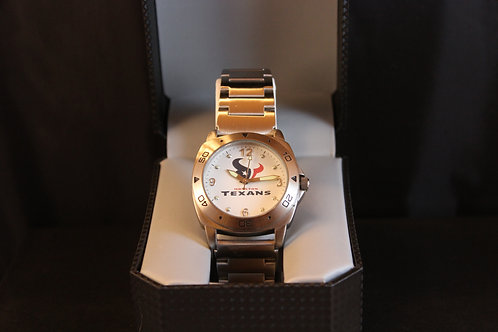 NFL Licensed Watch/Houston Texans/Stainless Steel