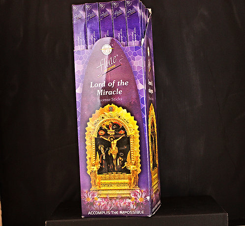 Flute Lord Of The Miracle Incense/India-Box of 8