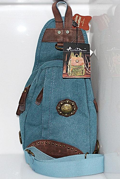 Montana West Blue Backpack. P/N EDMTB7005BL