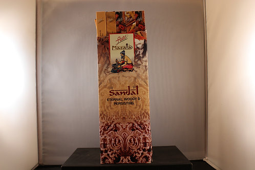 Flute Sandal Incense from India-Box of 8 sticks