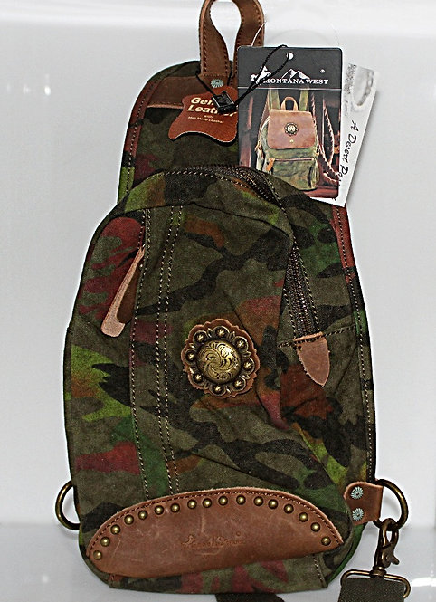 Montana West Camo Backpack. P/N EDMTB7001CAMO