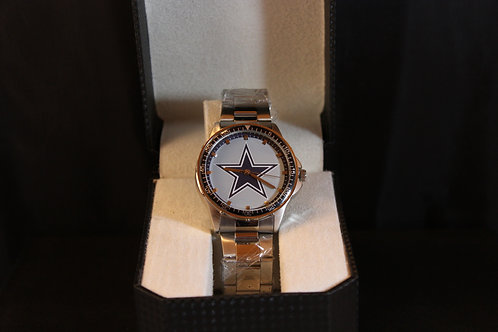 NFL Licensed Watch/Dallas Cowboys/Stainless Steel