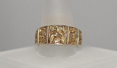 14KT Alaskan Gold Nugget Ring