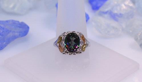 Black Hills Silver Mystic Topaz Ring