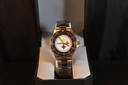 NFL Licensed Watch/Pittsburgh/Stainless Steel