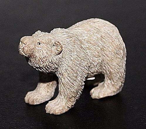 Bear Carved From Moose Antler