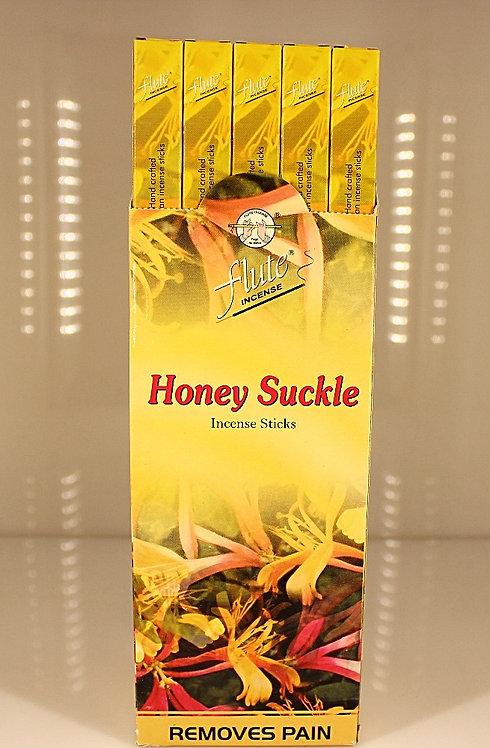 Flute Honey Suckle Incense/India-Box of 8