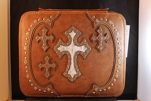 Montana West Bible Cover-EBFBDC001BROWN