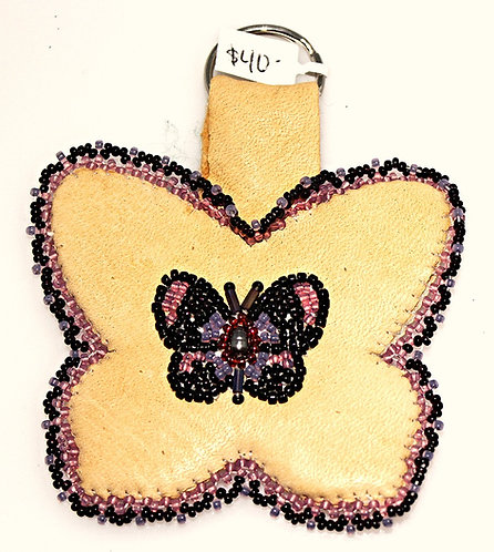 Hand Made Multi-Color Butterfly Barrette