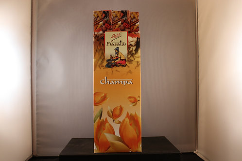 Flute Champa Incense from India-Box of 8 Sticks