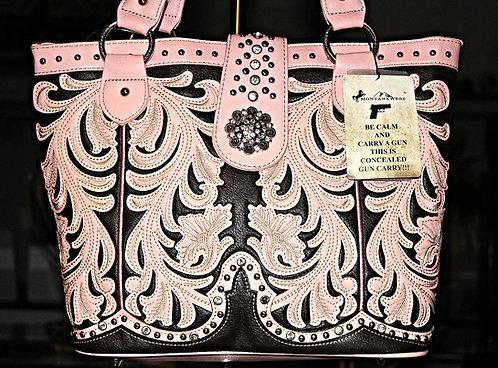 MW Pink Concealed Gun Carry Handbag