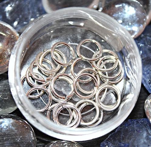 Sterling Silver Nose Rings - 18GA - 9ML