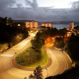 No.9  Contrasting Night Panorama