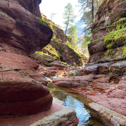 No.4 Stream In Between Boulders