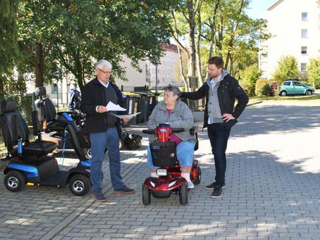 ZED E-Scooter als Bestandteil neuer Mobilität im Quartier der Zukunft