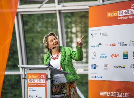 ZED präsentiert sich auf den Berliner Energietagen 2018