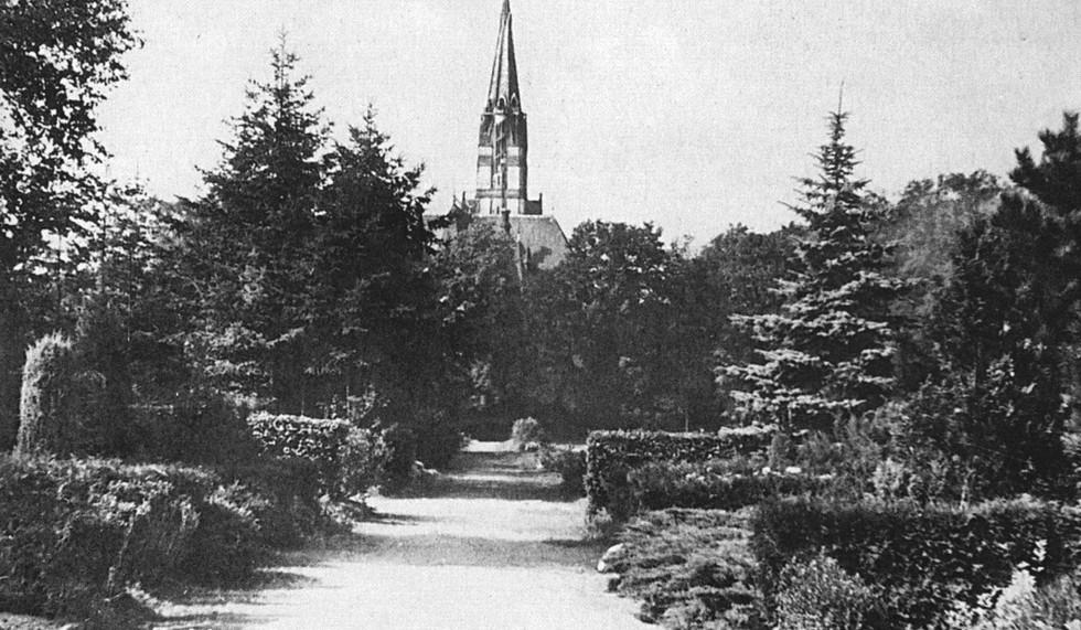 Blick auf Lukaskirche 1936