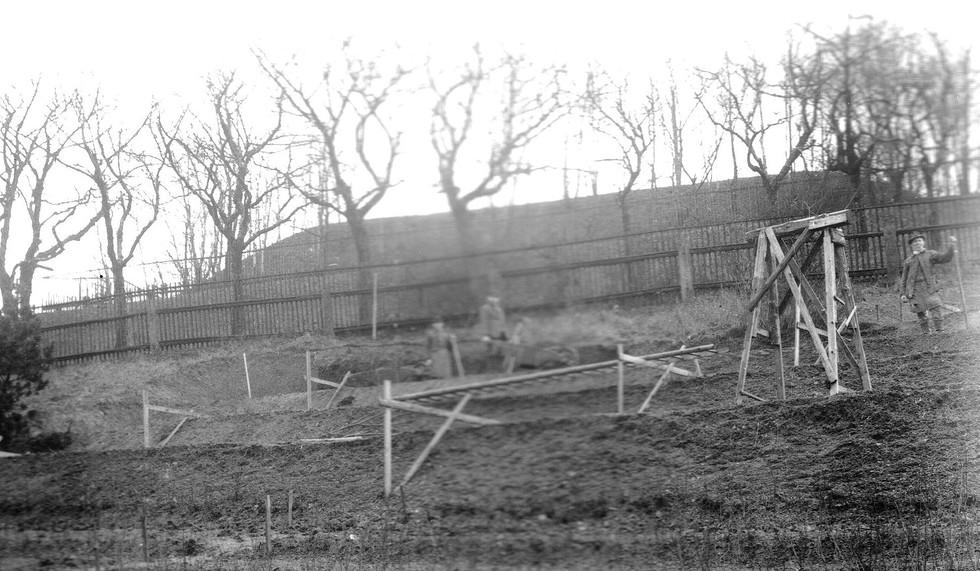Urnenhain um 1930