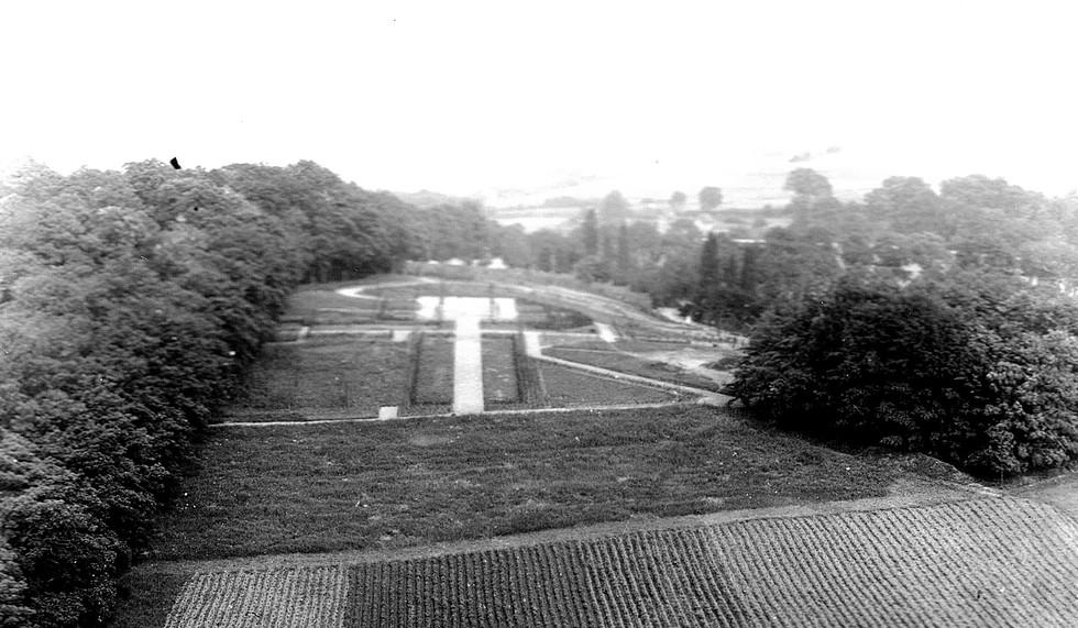 Blick auf Kreuzberg um 1940