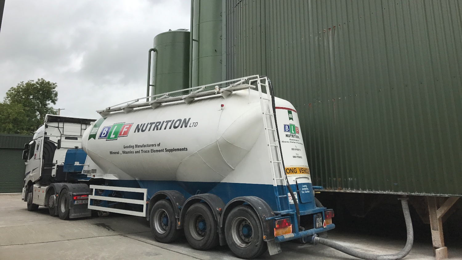 BLF Nutrition Haulage Vehicle