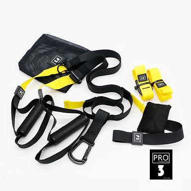 Hanging Training Belt Pro 3 Set
