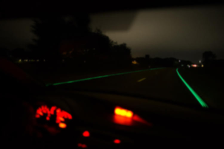 Glow In The Dark Highway Paint