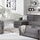 Thumbnail: Vision Diego Gray Sectional Sofa
