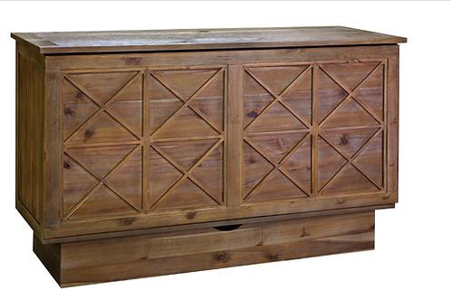 Essex Queen Murphy Cabinet Bed Ash