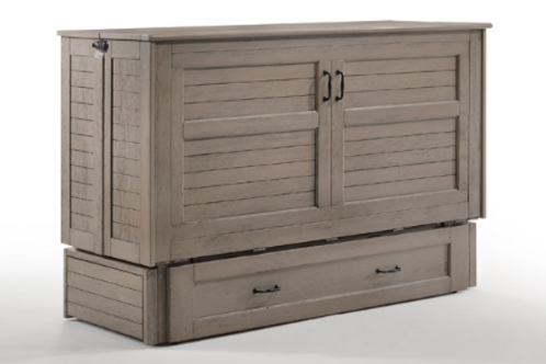 Poppy Murphy Cabinet Bed Brushed Driftwood