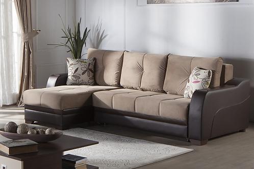 Ultra Lilyum Vizon Sectional Sofa