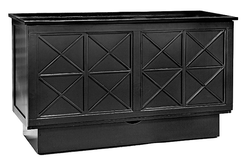 Creden-ZzZ Arason Essex Cabinet Bed (Black)