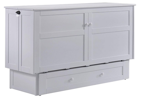 Night & Day Clover Murphy Cabinet Bed White
