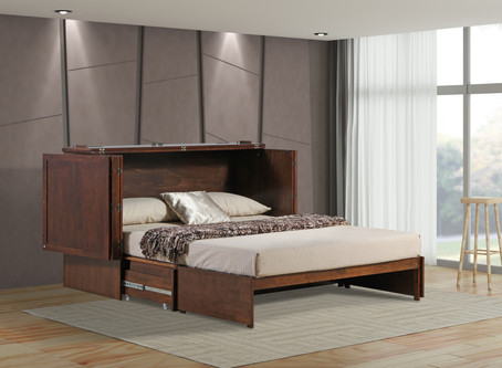 Top 10 Reasons to Invest in a Murphy Cabinet Bed