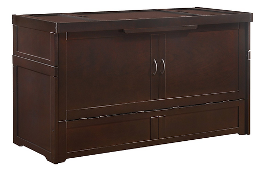 Night & Day Murphy Cube Cabinet Bed Dark Chocolate