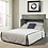 Thumbnail: Arason Enterprises Creden-ZzZ Queen Studio Ash Cabinet Bed