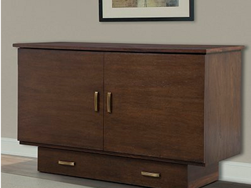 Traditional Murphy Cabinet Bed Pekoe