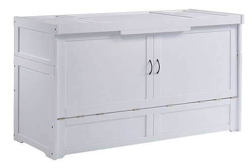 Night & Day Murphy Cube Cabinet Bed White