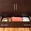 Thumbnail: Arason Enterprises Creden-ZzZ Cabinet Bed in Original Coffee