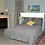 Thumbnail: Brussels Queen Murphy Cabinet Bed White