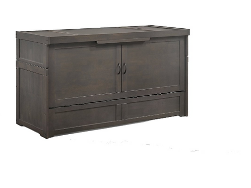 Night & Day Murphy Cube Cabinet Bed Stonewash